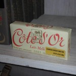 Chocolat Cote d'Or USA packaging at Chelsea Market