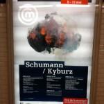 Paris Graphic Design | Affiche Cité de la musique - Schumann / Kyburz Cover