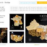 Nestlé China - 徐福记 Hsu Fu Chi - Corporate campaign - ART OF SNACKS - THE MAP - Francois Soulignac - Digital Creative & Art Direction - MADJOR Labbrand Shanghai, China
