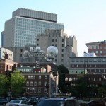 Boston Architecture, Haymarket neighborhood view