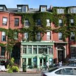 Boston Ivy, William Raveis real estate store front