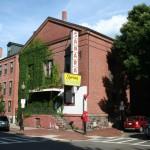 Boston Ivy on the walls - Sahara Syrian restaurant
