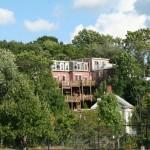 Boston Roxbury Crossing Station, House on the wood