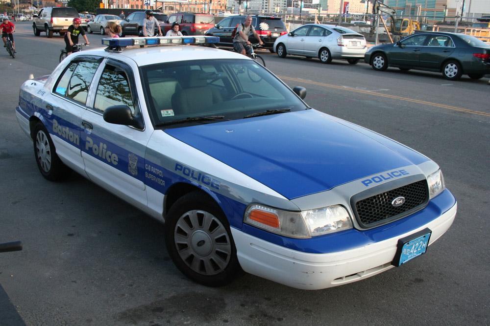 Boston Police - Car