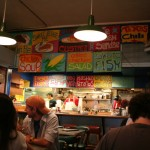 Somerville Shop Sign - Redbones menu