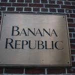 Boston Shop Sign - Banana Republic