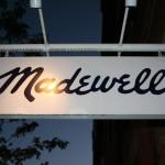 Boston Shop Sign - Madewell