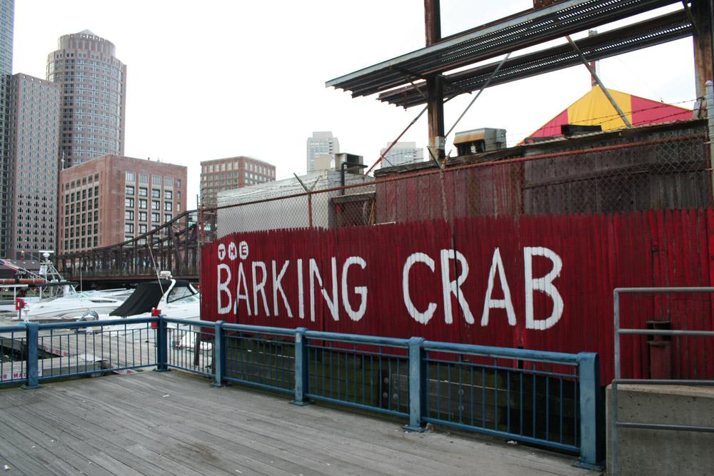 The Barking Crab Store Front, Boston Harborwalk