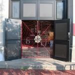 Boston Street Art - Boston University Theatre - Door of Production center