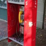 Somerville streets - Public phone