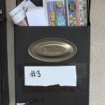 Cambridge Street - Full Mail box