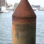 Boston Harbor - Mooring bitt