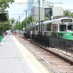 Boston Subway - MBTA green line - Museum of fine arts Station