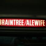 Francois Soulignac - Boston Subway and Commuter Rail - MBTA Braintree/Alewife direction