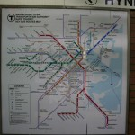 Francois Soulignac - Boston Subway and Commuter Rail - MBTA Map