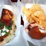 Boston food - Lobsta Love lobster mini burger