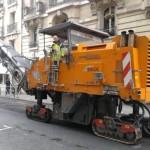 Paris Streets | Matériel travaux urbains - Machine à goudron et bitume
