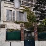 Paris Architecture, Old vintage little house