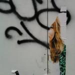 Paris Street Art | Affiche Kate Moss vieille déchirée - Kidult
