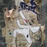 Paris Street Art Paris 19eme roi cape et épée
