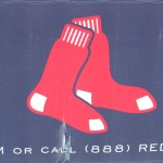 Cambridge Graphic Design, Fenway Park Red Sox logo sign