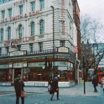 Francois Soulignac - London Store Front, Umbrellas James Smith The sons