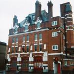 Francois Soulignac - London Architecture, Buddhist Centre, Bethnal Green Station