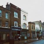 Francois Soulignac - London Store Front, LXV Books, Bethnal Green Station