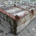 Francois Soulignac - Lovells Island - Piece of ship on the beach