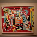 Museum of Fine Arts MFA Boston - Stuart Davis, Hot Still Scape for six Colors