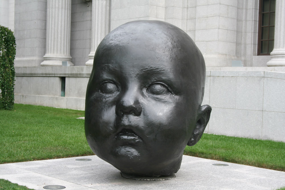 MFA Boston - Antonio López García, Giant Heads baby
