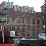 New-York Architecture, Old vintage building, Chaibrothers tag street art