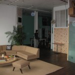New-York Architecture, Brooklyn, Old vintage interior flat apartment house