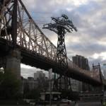 New-York Architecture, Manhattan, Bridge, Roosevelt Island Aerial Tramway (Cable Car)
