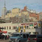 New-York Architecture, Manhattan, 8 AV et W 23 ST, Crosswalk