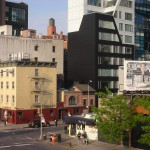 New York Architecture, Manhattan, by, from, around High Line Park