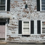 Francois Soulignac - Salem MA - Old front house in wood