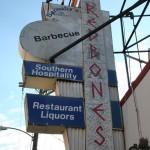 Somerville (David-station) - Redbones shop sign