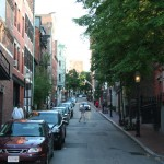 Francois Soulignac - Streets of Boston - Old street