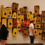 The Institute of Contemporary Art (Boston ICA), Os Gemeos sound system with eyes, camera and mouths