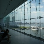 The Institute of Contemporary Art (Boston ICA) architecture, An interior shot of the ICA Founders Gallery facing Boston Harbor
