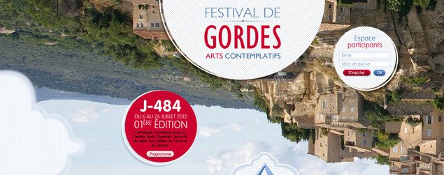 Francois Soulignac - Festival de Gordes (graphic research)