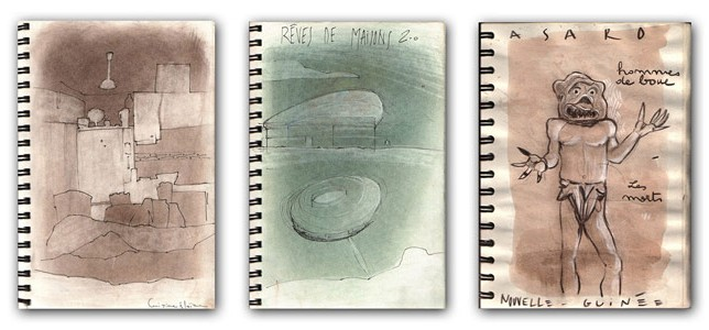 Francois Soulignac - Sketchbook croquis illustrations