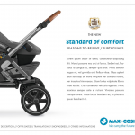 Maxi-Cosi China - Dorel Juvenile - Lila stroller key visual - Researches by Francois Soulignac, Digital Creative & Art Director - MADJOR Labbrand Shanghai, China