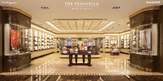 The Peninsula Boutique China - Francois Soulignac - Creative & Art Direction - Labbrand Madjor Shanghai, China