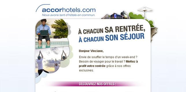 Francois Soulignac - Accor Hotel Newsletter