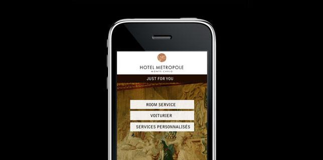 Francois Soulignac - Mobile App Hotel Metropole Monte-Carlo - JUST FOR YOU