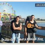 Gta in real life - Los Angeles - Pacific Park Santa Monica pier