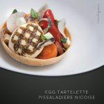 Mr & Mrs Bund Shanghai, Modern Eatery by Paul Pairet, Food, Egg Tartelette Pissaladiere Nicoise, VOL Group China