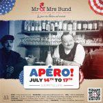 Mr & Mrs Bund Shanghai, French National Day Celebration, Apero, Design by François Soulignac, VOL Group China